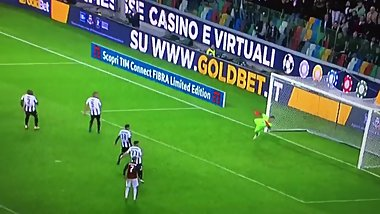 AC Milan football team fucks Udinese Calcio in the ass at 96' minute time