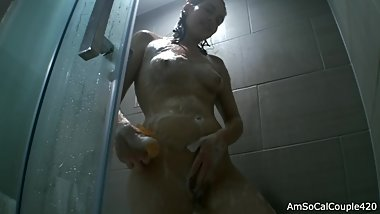 Sexy Girl Soapy In The Shower