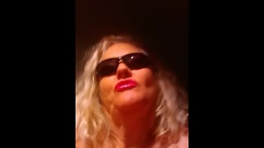 Sunglasses blonde in disquise