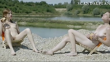 Iris Boss & Antje Monning Nude Pussies On ScandalPlanet.Com
