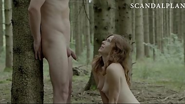 Antje Monning Blowjob & Cumshot Scene On ScandalPlanet.Com