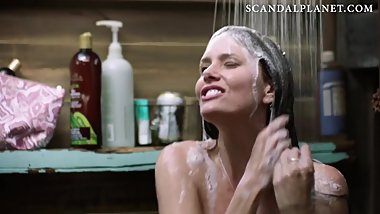 Ione Skye Nude Showering Scene in 'Camping' On ScandalPlanet.Com