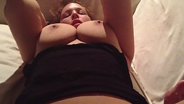 slut ex on my couch being a whore