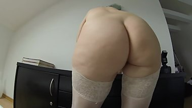 My big and soft mature butt while shaking