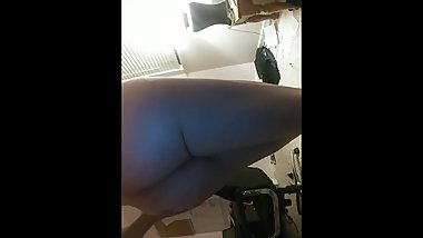 Trans girl takes off her clothes and shows off her body (Part 2)