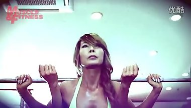 korean muscle woman