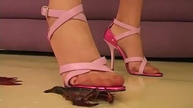 high heels crush crawdad 2