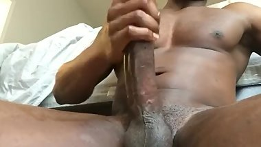 Jacking my Big Dick off