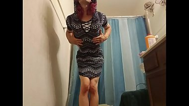 sexy body femboy sissy in touch with her female side - part 1
