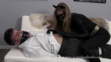 Catwoman & The Commissioner - Superheroine HOM Domination Trailer