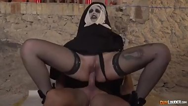 The Nun XXX Parody