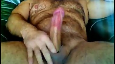 BEAR HAIRY BEARD SOLO CUM