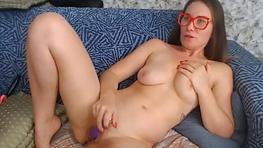Smoking hot Babe Gets her Ass Banged by his dildo