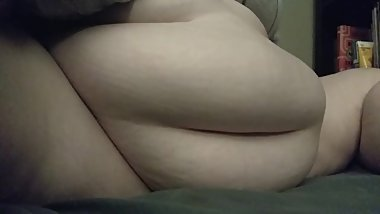 Quick belly play BBW Feedee Amber Crystal