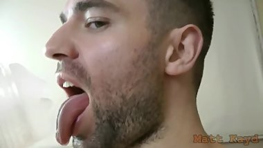 Sloppy fleshlight makeout