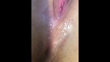 Cum Pouring From Pussy