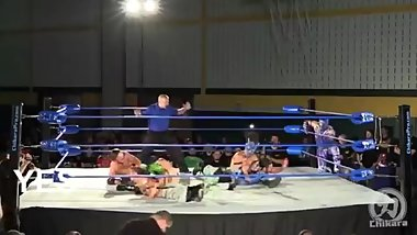CHIKARA - Team AAA vs Bullet Club - King of Trios 2015 - Highlights HD