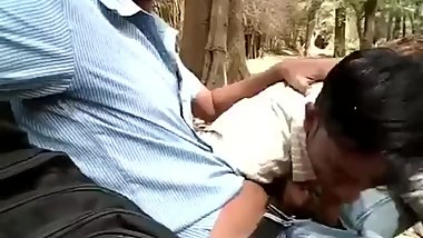 Public BJ By Sexy Indian Dudes