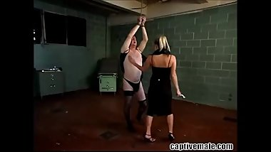 Slave Gets Cruel Strapon Domination From His Mistress at StraponFetish.club