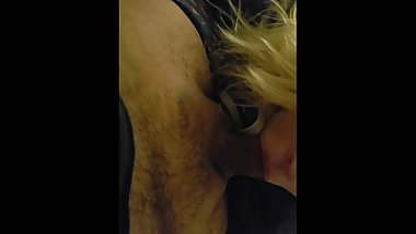 Blonde Teen Gives Blowjob And Swallow POV